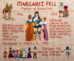 QUAKER TAPESTRY – MARGARET FELL
