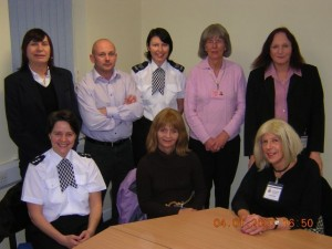 Lynne and other members of the Trans Lancs Advisory Group