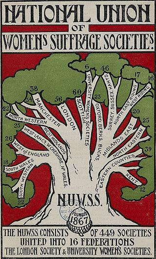 1913 NUWSS Poster