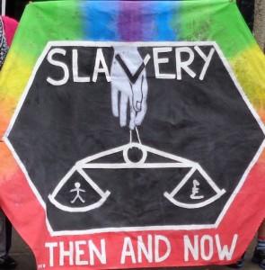 Slave Trade Memorial Banner