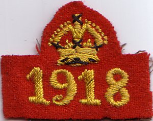 War Service Badge