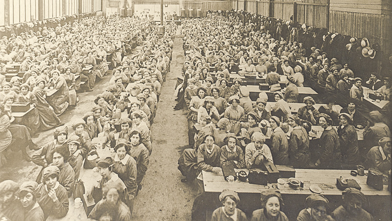 Canteen at the National Projectile Factory