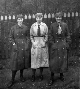 Three 'Munitionettes'