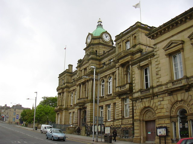 Burnley Town Hall Robert Wade