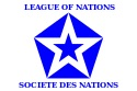 League of Nations flag