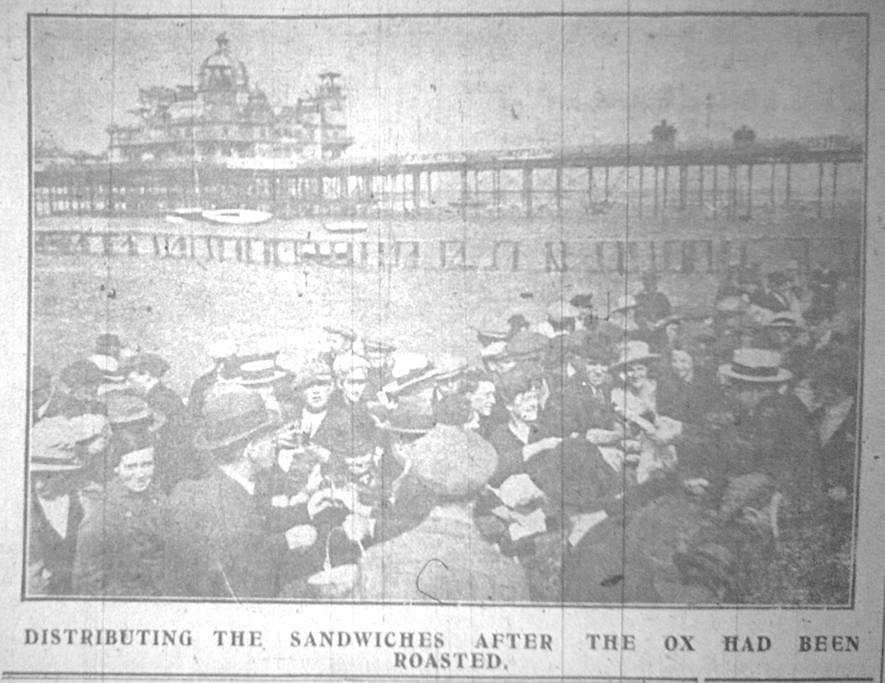 Morecambe peace celebrations, Sep 1919 The Morecambe Visitor and Heysham Chronicle, 24 Sep 1919