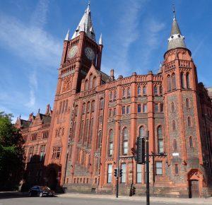 Victoria Building, University of Liverpool. Superchilum