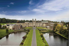 West Front aerial view of Stonyhurst College Courtesy of Stonyhurst College