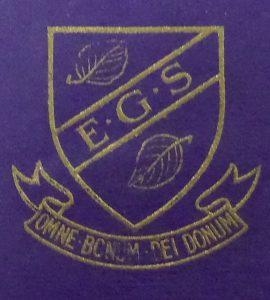 Elmslie Girls' School badge Courtesy of Lancashire Archives, Archive ref: SMBP/16/acc8888/box 2