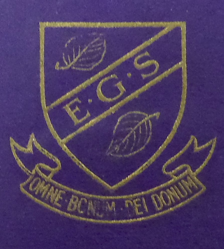 Elmslie Girls' School badge Courtesy of Lancashire Archives, Archive ref: SMBP/16/acc8888/box 2